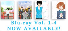 Blu-ray Vol.1-4 Now Available!!